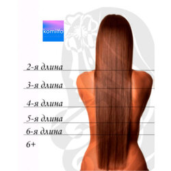 Окрашивание краской клиента 2-я длина